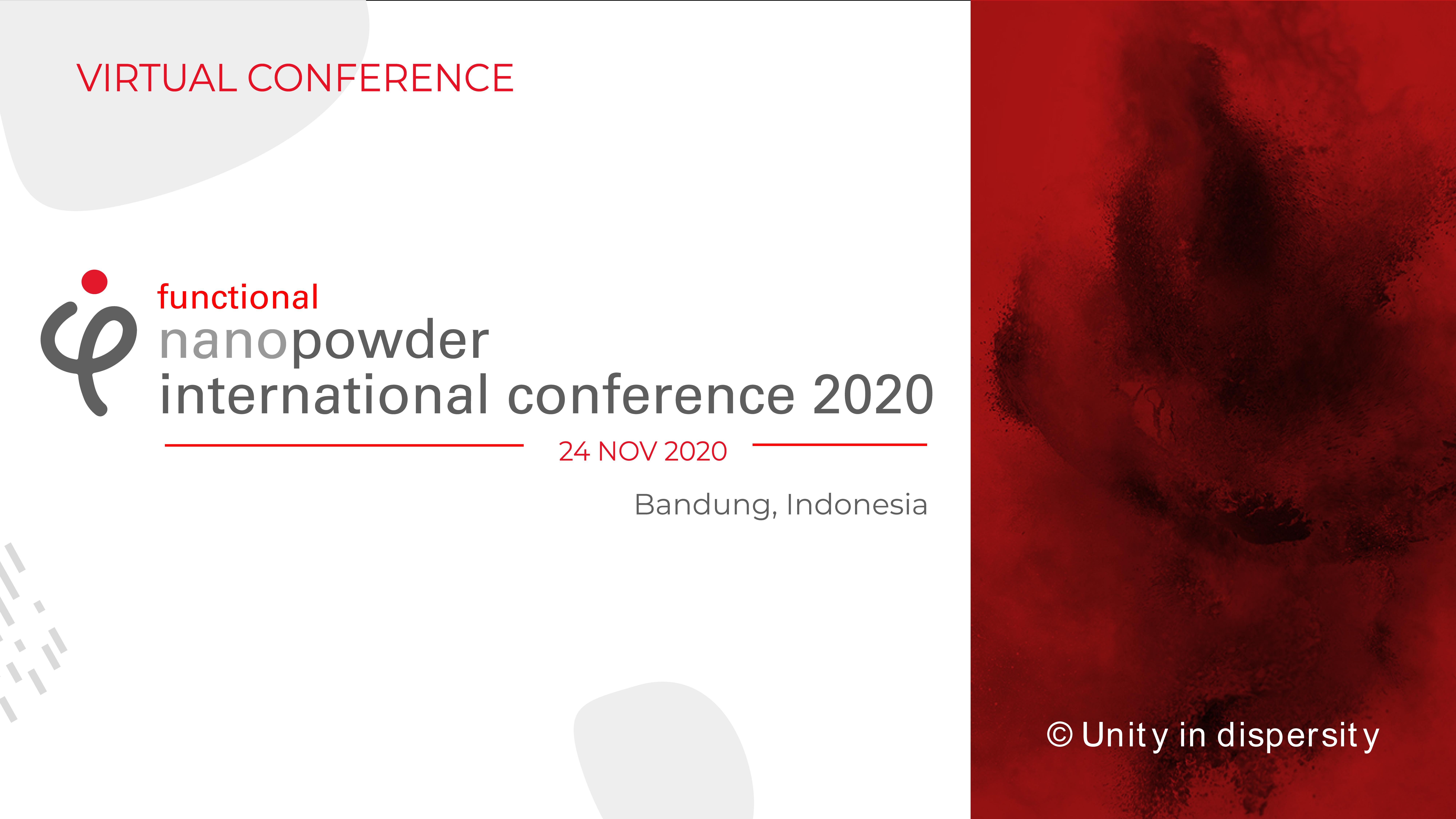 Functional Nano Powder International Conference 2020